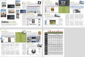 Test von Kalendern für das fotoMAGAZIN