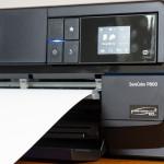 Der Einzug für Fine-Art-Medien und Karton des SureColor